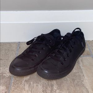 Size 8 all black converse